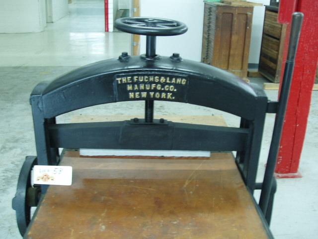 The first litho press is invented